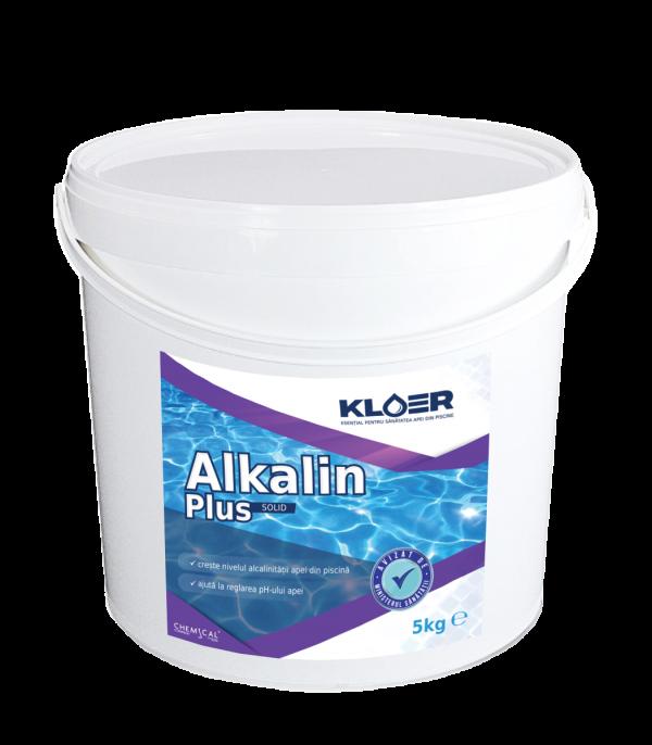 Alkalin plus solid 5kg, creste nivelul alcalinitatii apei. Esential pentru tratarea ph. Reduce consumul de produse chimice folosite in tratarea apei.