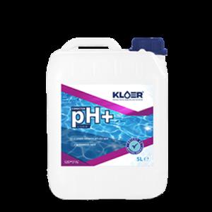 Corector ph+ lichid 5l. Crestere valoare ph apa piscina, spa. Corectare ph apa acida. Corector ph pozitiv, lichid. Crestere ph apa.