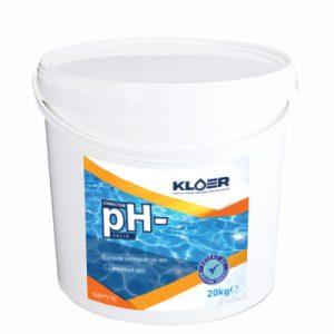 Corector ph- solid 20kg, solid. Scadere ph apa piscina. Tratare apa bazica piscina. Scadere ph apa prin dozare manuala. Tratare apa piscina, spa.