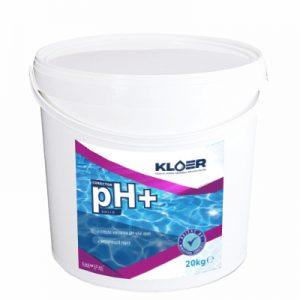 Corector ph+ solid 20kg, corecot ph solid. Corector ph apa acida. Corectare ph apa. Tratare apa piscina. Crestere nivel ph apa.