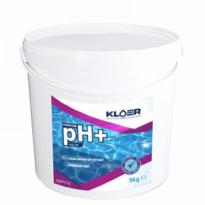 Corector pH+ solid 5kg, corectare ph apa acida. Corectare ph apa. Crestere nivel ph apa piscina. Tratament ph apa piscina. Ph apa.