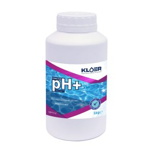 Corector pH+ solid 1kg, corectare ph apa acida piscina. Corectare ph apa. Crestere nivel ph apa piscina. Tratament ph apa piscina. Ph apa.