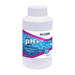Corector pH+ solid 1kg, corectare ph apa acida piscina. Corectare ph apa. Crestere nivel ph apa piscina. Tratament ph apa piscina. Ph apa.