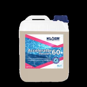 Accelerator de floculare 60 minute 5 L mareste volumul particulelor aflate in suspensie, creste eficienta floculantilor, ajuta la limpezirea apei!