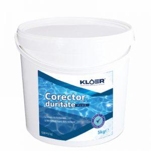 Corector Duritate Plus Kloer 5 Kg creste duritatea apei din piscina cand aceasta este scazuta pentru a preveni uzarea instalatiei/echipamentelor din plastic