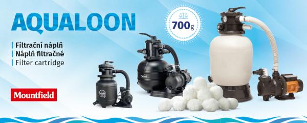 Aqualoon® este un mediu de filtrare unic pentru filtrul și cartușele de filtrare ale piscinei. Poate reține particule de murdărie mai mari de 3 microni.